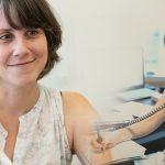 Amélie Desnoyers, spécialiste en réadaptation en déficience visuelle